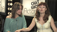 Actress Elizabeth Greer and Host Cerris Morgan-Moyer on ActorsE