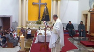 Misa de Sanacin. Padre Guadalupe Santos.