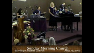 God's Not Through With You - Sandill Gospel Singers (crabb)