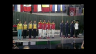 Team Event Podium - Rio Epee Internationale WC 2013