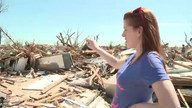 Residents explore former homes as tornado-hit areas reopened