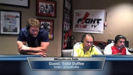 My 15 seconds of fame Live on MMAJunkie Radio in Vegas 05/27/2013