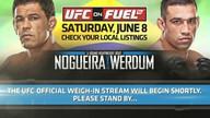 UFC Live  on Ustream