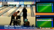 2013 USBC Senior Masters - Round 3, B Squad (Part 2 of 2)