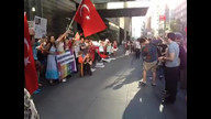 last hour of support demo for turkey at CNN