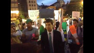 final hour of brazil solidarity rally in union square