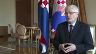 Croatian president talks to AFP about EU membership