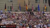 Replay of Pr. Obama's speech at Bradenburg Gate