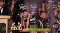 Invicta FC 6: Cyborg vs. Coenen II Weigh In