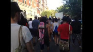 Crowd shot of Trayvon Martin Rally