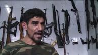 War means profit for gun seller in Syria's Aleppo