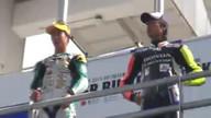 第8戦岡山 J-GP3 決勝レース 表彰台