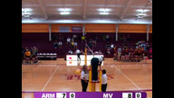 Volleyball vs. Montevallo, 11/1