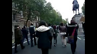 #OccupyTheBBC Downing Street #Marchagainstmainstreammedia #OCCYPYTHEBBC