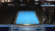 Bernie Pettipiece vs Lee Brown - One Pocket