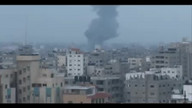 Airstrike On Gaza 6:16am 8/23/14