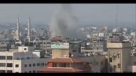 Airstrike on Gaza City 8:47am