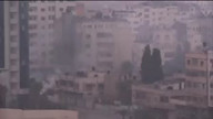 Gaza Under Veil Of Smoke After Repeated Strikes This Morning