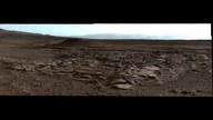 Water Helped Shape Martian Landscape