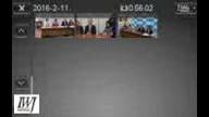2016/2/11参議院選挙・熊本選挙区におけるあべ広美氏と「市民連合」との合意書調印と記者会見
