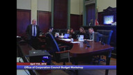 Dept. of Corporation Council Budget Workshop
