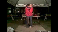 Guinness World Record Kiss - Matty and Bobby 09/19/10 12:43AM