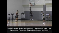 Warriors Training Camp Live - 10/2/10 - Pt. 1