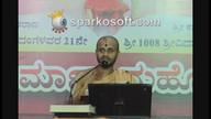 Mahabharata Sabhaparva anugraha Sandesha 21 chaturmasya @ Satti 09/08/2016