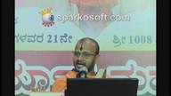 Mahabharata Sabhaparva anugraha Sandesha 21 chaturmasya @ Satti 12/08/2016