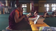 Tsog in Palyul Temple