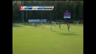 FMU senior Tori Whigham scores against Lander