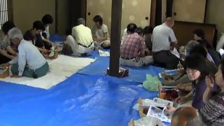 布ぞうり作り講習会(小弓の庄)