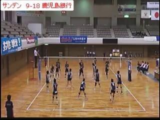 サンデンvs鹿児島銀行(全日本実業団選手権)