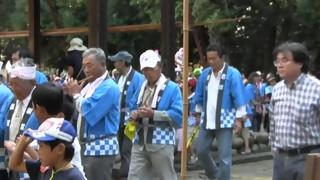 比良賀神社大祭(4)堂廻り・宮出し
