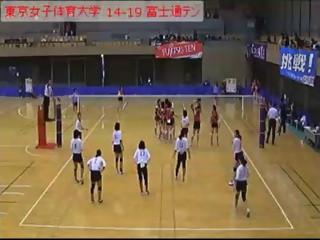東京女子体育大学 富士通テン