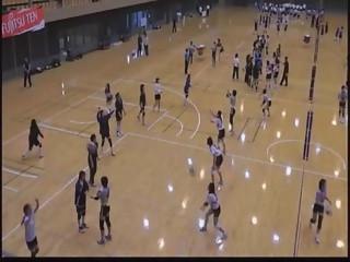 バレーボール教室(所沢市長杯)