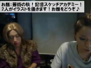 芸術の秋!ばぶとキムビの記憶スケッチアカデミー!