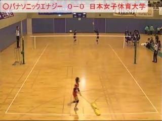 パナソニックエナジーvs日本女子体育大学