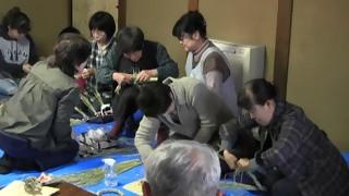しめ縄作り講習会H24 (小弓の庄)
