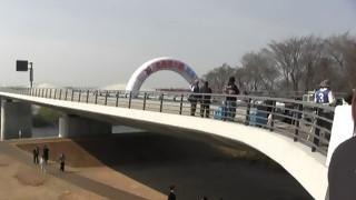各務原大橋開通記念(1)ウエルカム演奏