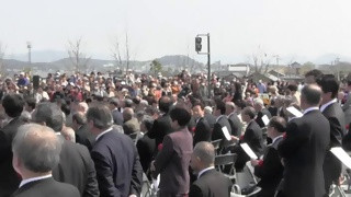 各務原大橋開通記念(4)合唱 夢の架け橋