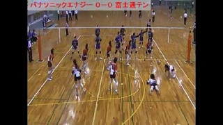 ◆決勝 パナソニックエナジー対富士通テン(1/2)