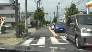 春日井100キロWalkコース沿道(54)第1CP小牧〜第2CP犬山