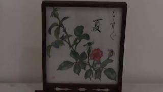 ハガキ絵作品展ねぎぼうずの会(小弓の庄)