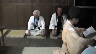 五郎丸神明社夏祭り(輪くぐり)