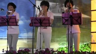 羽黒の夏祭り(9)オカリナ・ゆう