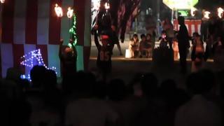 羽黒の夏祭り(10)ファイアダンス羽黒小