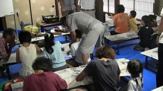 篠竹で笛を作ろう工作教室・小弓の庄