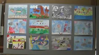 羽黒小学校3、4年生図画作品展(小弓の庄)