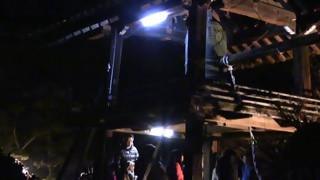 興禅寺・除夜の鐘つき(2)